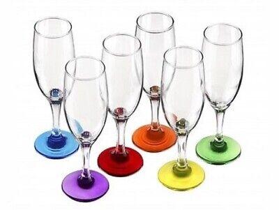 6 Sektgläser MIX Sektkelche Champagner Prosecco Gläser Sektglas Proseccoglas