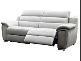 X2 Harvey's 3 seater recliner sofa