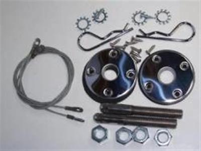 """NEW Mopar Hood Pin Kit 23"""" Cables Steel Hood for sale  Shipping to Canada"""