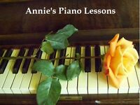 PIANO LESSONS - Beginner and Intermediate