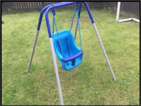 Baby's indoor and outdoor swing