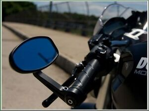 Quality Billet Alloy Bar End Mirrors Suitable for Yamaha MT-01