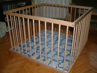 Baby/toddler play crate
