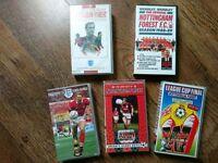 Nottingham Forest vhs videos