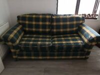 Free 2 seats sofabed to collect
