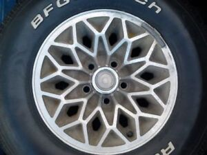 GM 4 3/4 BOLT PATTERN ALUMINUM RIMS
