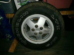 Micheln mud and snow rims / tires for Jeep yj Strathcona County Edmonton Area image 6