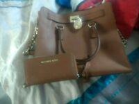 Stunning large Michael Kors handbag and purse set