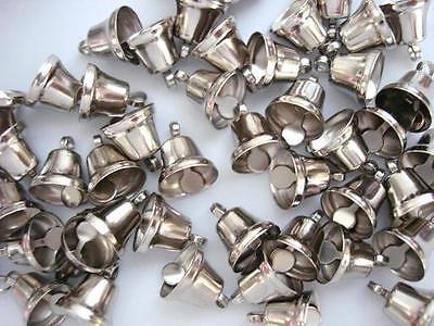 Jingle Bell Christmas/Bow/embellishment/ornament M6-Silver (Jingle Bell Ornamenten)