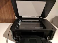 Canon MG5350 Pixma Inkjet All-In-One Airprint A4 Printer - works perfectly