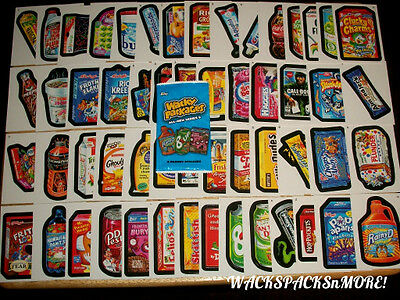 2011 WACKY PACKAGES ALL NEW SERIES 8 (ANS8) COMPLETE 55 CARD SET + MORE!