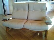 6 Seater Leather Lounge Suite Tura Beach Bega Valley Preview