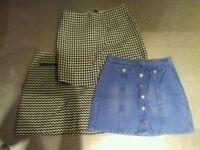 JOB LOT 10 skirts and dresses sizes 10/12