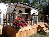36ft Conquest Park/Travel Trailer by Gulf Stream
