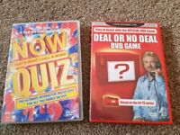 2 x DVD quiz games