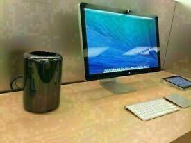 TOP SPEC Twelve Core 2.7Ghz Apple Mac Pro TrashCan 64Gb Ram 512GB SSD Adobe Master Suite FCPX