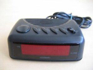 Vintage COSMO Digital Alarm Clock Electric or battery, Snooze