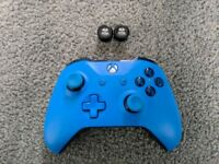 Xbox one blue vortex controller as new