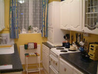 Nice share room is available now in flat for a LADY, 3min walk to Station ** no extra **