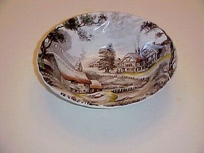 Staffordshire China Yorkshire Coupe Cereal Bowl  China Coupe Cereal