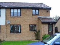 ATTRACTIVE 2 BED FURNISHED LOWER GROUND FLOOR FLAT IN NEWTONGRANGE