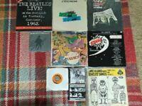 Beatles vinyl albums, singles and cds joblot