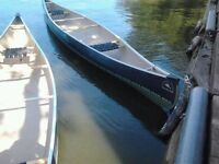 H2O Canoe Co. Peterborough 16 must go! great deal!