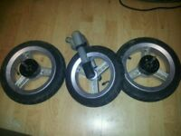 Quinny speedi pushchair wheels