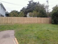 FENCES/DECKS/SHEDS