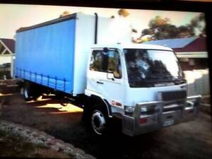 UD NISSAN PKA-220 PAN TAUTLINER TAILGATE LOADER Blair Athol Port Adelaide Area Preview
