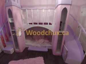 PRINCESS VIOLET CASTLE Bunk Bed & BEDROOM SET .. ♥‿♥