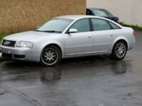 Audi, A6, Saloon, 2004, Manual, 1896 (cc), 4 doors