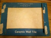 Large ceramic wall tiles