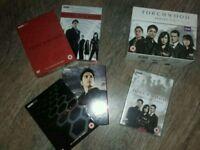 Torchwood DVD Boxset & 4 Novels