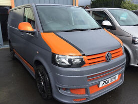 VW TRANSPORTER T5.1 FRONT BUMPER AYRSHIRE MANUFACTURE