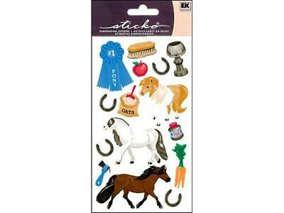 Sticko Pony Show Stickers Horse Scrapbooking Crafts