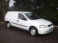 2002 VAUXHALL ASTRA VAN 1.7 DTI ** BOXED EXCELLENT CONDITION ** EXCELLENT RUNNER ** 12 MONTHS MOT