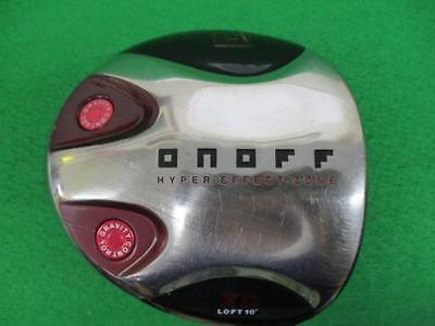 2010model DAIWA globeride ONOFF XD Loft-10 R-flex 1W Driver Golf Clubs