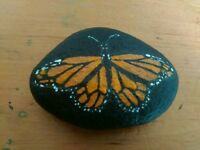 10 painted pebbles/fun collectibles