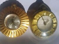 2 Swiss made wind up pocket or pendant watches