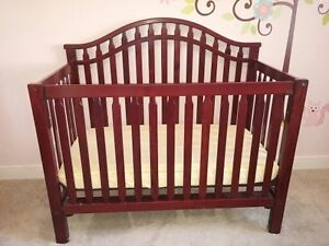 Solid Maple Crib and Change Table