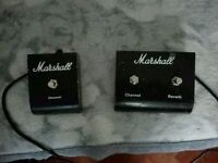 Marshall footswitches