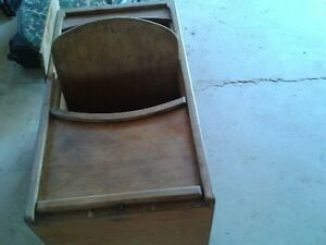 antique baby cradle /feeding chair/walker