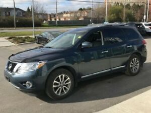 2015 Nissan Pathfinder SL THIRD ROW SEATING! BLACK LEATHER! P...