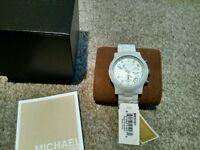 Micheal Kors watch ceramic white