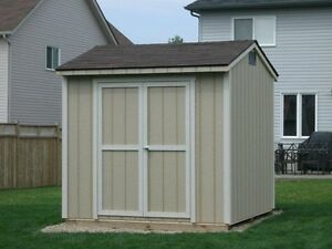 8'x8' SHED PACKAGE - CUSTOM BUILT