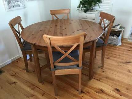 IKEA Table And Chair BundleMelbourne Region VIC Dining Tables Gumtree Australia Free