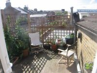 Peckham 3 bedroom split level flat, super central, all renovated, funky layout, pvte rent no fees