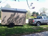 Storage Shed Mini  Barn Moving. (Prince county to Charlottetown