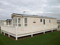Static Caravan for Sale in North Norfolk, between Cromer & Sheringham. Cliff top location.